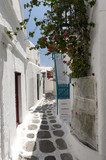 Alley Way Mykonos Greece