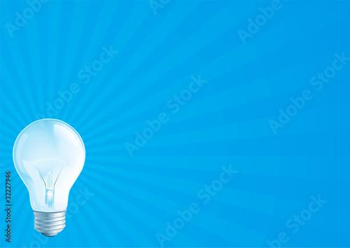 Fototapeta light bulb obraz na płótnie