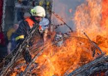 Waldbrand Feuerwehr