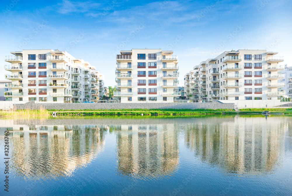Fototapeta Residential Housing