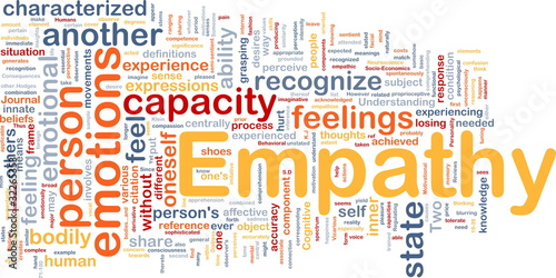 Fotografia  Empathy background concept