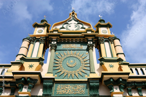 Photo  Singapore mosque
