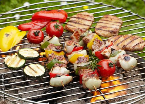 In de dag Grill / Barbecue Grillen
