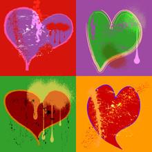 Grungy Love Design