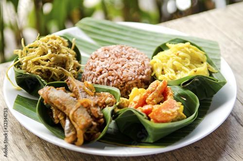 Foto op Aluminium Bali indonesian food in bali