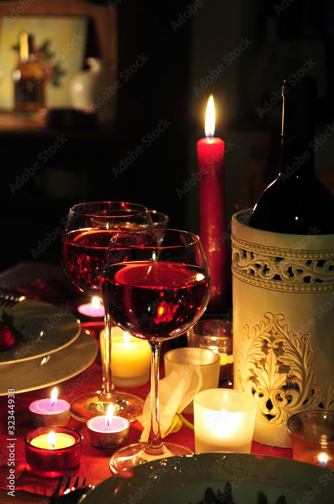 Kerzenschein romantik