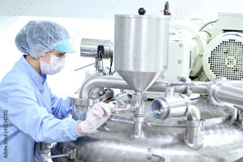 Fotografie, Obraz  Pharmaceutical Industry