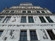 restaurierte Fassade im Residenzschloss Dresden