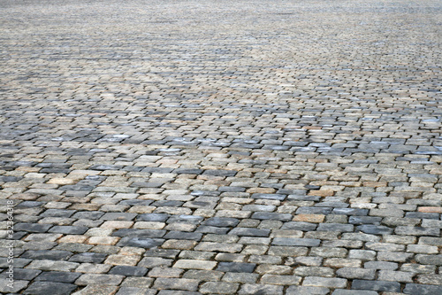 Photo Cobblestone pavement