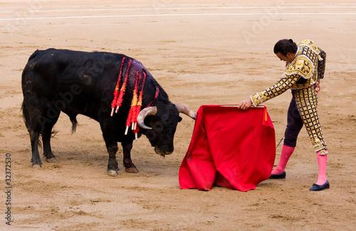 Bullfight in Barcelona