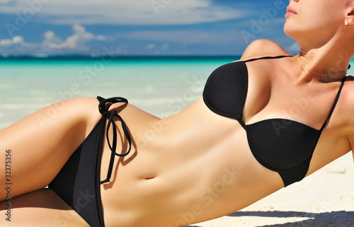 Obraz Beautiful body - fototapety do salonu