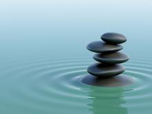 Balancing Zen Stones