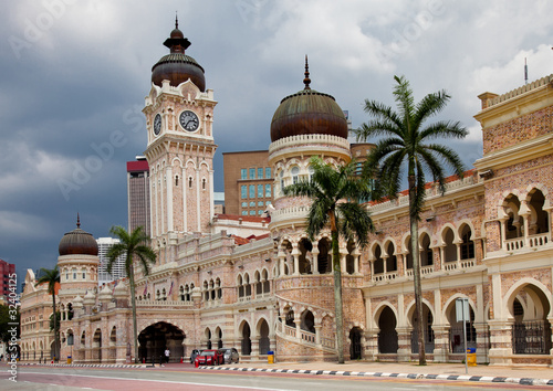 Photo Bangunan Sultan Abdul Samad building