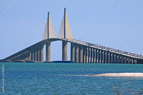 Keuken foto achterwand Bruggen Sunshine Skyway Bridge,Tampa Bay,Florida