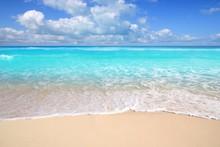Caribbean Turquoise Beach Perfect Sea Sunny Day