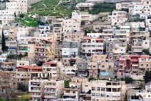 Arab Silwan Village In East Jerusalem