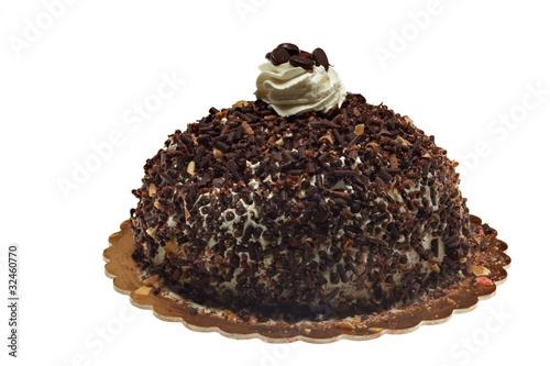 Fotografie, Obraz  torta gelato al cioccolato