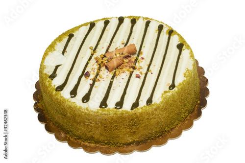 Fotografie, Obraz  torta al pistacchio