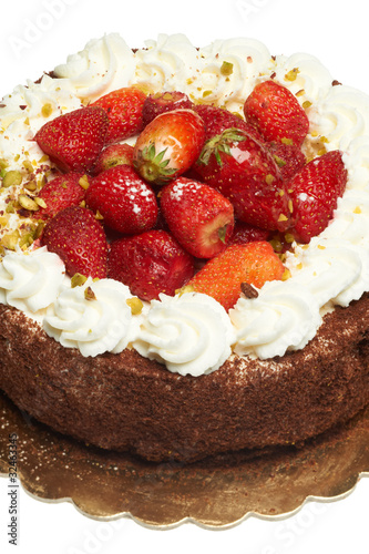 Fotografie, Obraz  torta al cioccolato