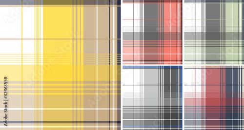 Photo  colorful plaid check pattern
