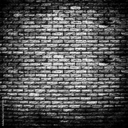 Foto op Plexiglas rough brick wall