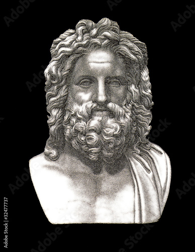 Zeus Jupiter Canvas Print