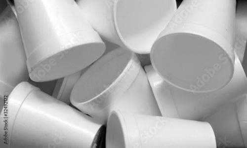 Fotografie, Obraz  styrofoam cups