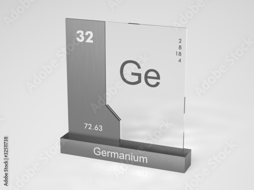 Germanium Symbol Ge Buy This Stock Illustration And Explore