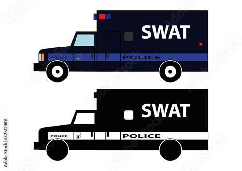 Fotografie, Tablou  Police car 11