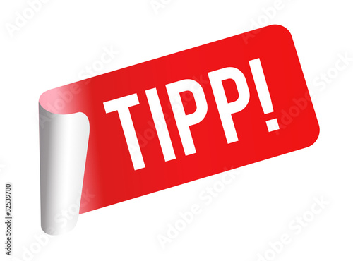 Tipp Sticker