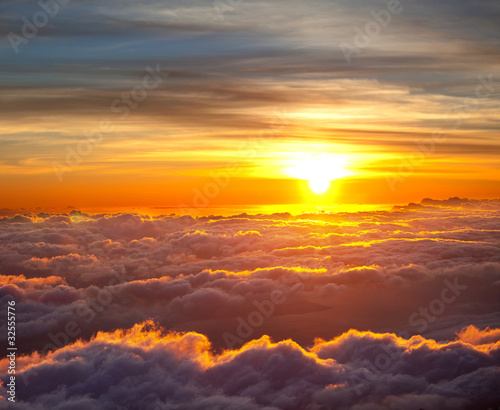 Sunset scene - 32555776
