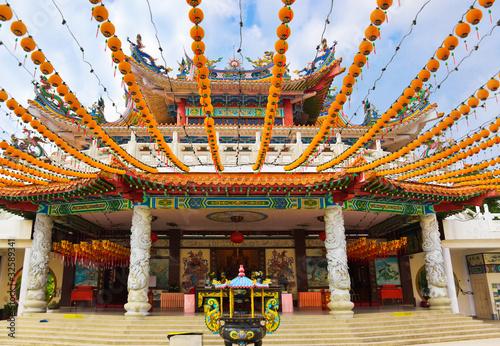 Photo  Thean Hou Temple at Kuala Lumpur Malaysia