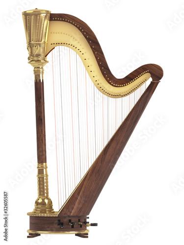 Tablou Canvas Harp