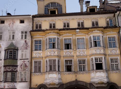 Fotografie, Obraz  Město Bolzano v italském Tyrolsku, severní Itálii