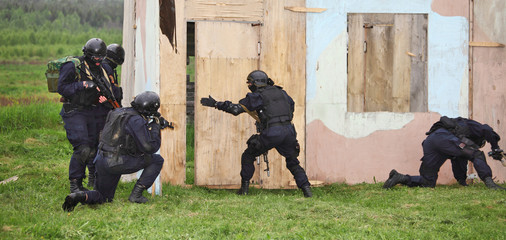 Special Forces tactical exercises