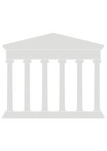 Portico (Colonnade), Ancient Temple