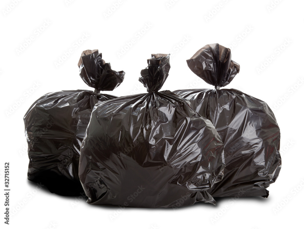 Fototapeta Sacchi di spazzatura