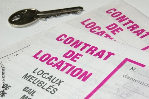 Fotografía  Contrat de location
