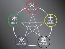 Wu Xing - Die Fünf Elemente Der Akupunktur