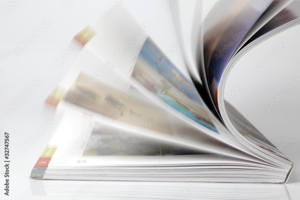 Fototapeta Zeitschrift