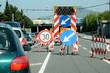 Zähfließender Verkehr