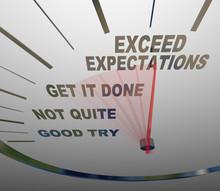 Speedometer - Exceeding Expect...