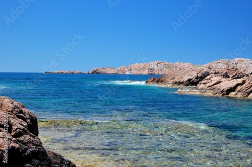 Isola Rossa - Costa Paradiso Canvas Print