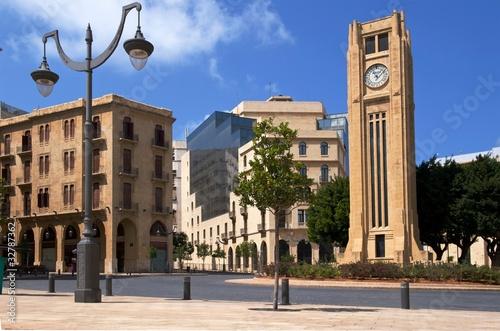 Naklejka premium Libańska Izba Mówców w Bejrucie