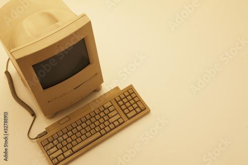 Fotografie, Obraz  古いパソコン