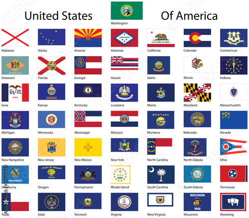 United States of America collection. Wall mural
