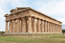 Italy, Paestum. The Temple Of Hera-II