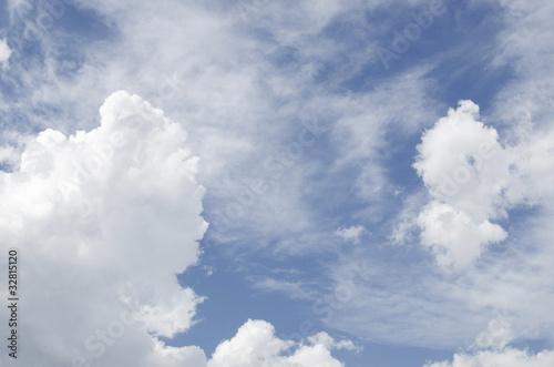 Cielo Nuvoloso Fototapeta