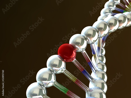 DNA Wallpaper Mural