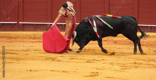 Photo Stands Bullfighting Matador